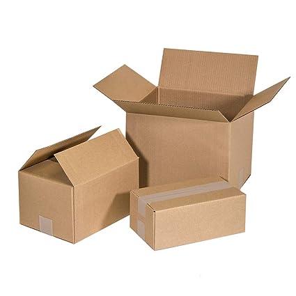 Kartox | Cajas de Cartón Canal Simple Reforzado | 25x20x15 - Pack de 25