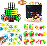 Toys : Party Favors For Kids Toy Assortment Bundle,Mochi Squishies,Puzzles,Finger Gyro Spiral Twister Toys For Birthday Party,Classroom Rewards,Carnival Prizes,Pinata Filler,Treasure Box,Goodie Bag Filler