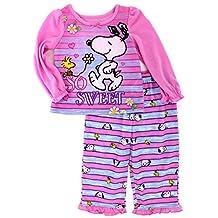 Peanuts Snoopy Toddler Poly Pajamas