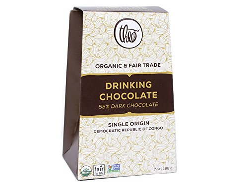 Theo Chocolate Dark Drinking Chocolate, 7 oz