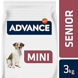 Advance Senior Mini – Pienso para Perros de Edad Avanzada de Razas pequeñas – 3 kg