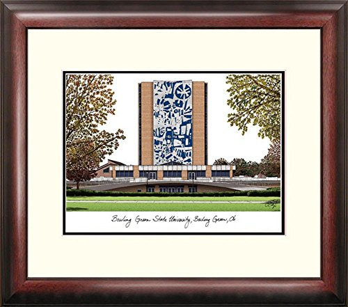 Bowling Green State Falcons Framed Lithograph Print by Landmark Publishing