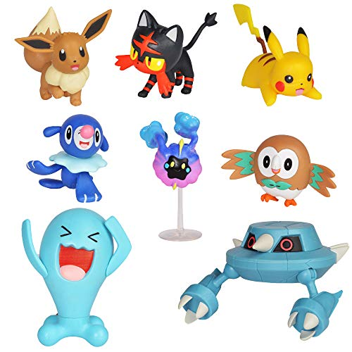 (Pokemon Action Figure Mega Battle Pack - Comes with 2