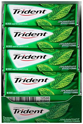 trident-sugar-free-gum-spearmint-18-count-pack-of-12
