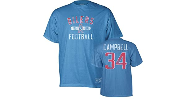 Amazon.com   Earl Campbell Houston Oilers Vintage Name and Number T-Shirt    Apparel   Sports   Outdoors dc2d75e35