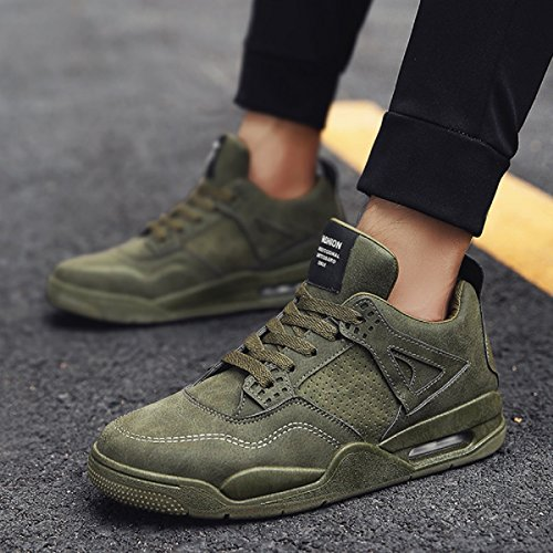 Shoes Shoe Jogging Air Athletic Sports Walking Lightweight Green Cushion Outdoor Gym Sneakers Basketball Sport Running Drive Men's Exercise Casual Yqw1FA