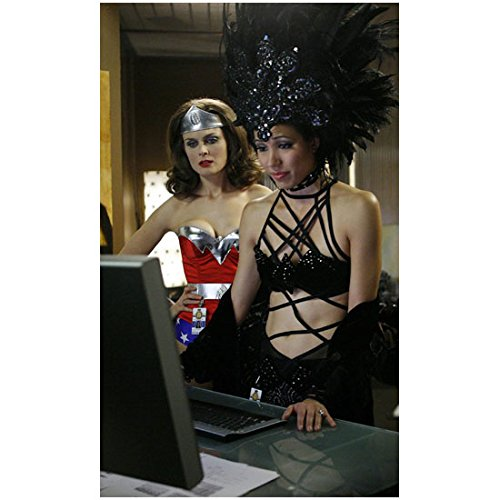 Bones Emily Deschanel Dressed Up for Halloween 8 x 10 inch -