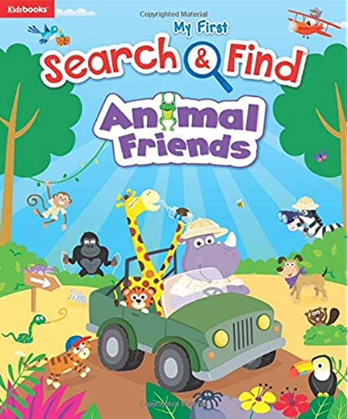 Jungle Animals Early Reading Colourful Board Books 4 to Collect