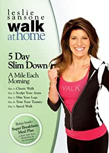 Leslie Sansone: Walk at Home - 5 Day Slim Down - A Mile Each Morning