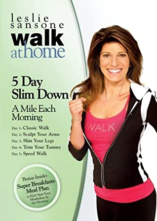 Leslie Sansone: Walk at Home - 5 Day Slim Down - A Mile Each Morning