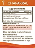 Chaparral 120 Capsules(2 pcs.), 1000 mg, Organic