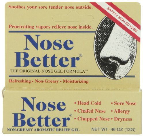 Nose Better Non-Greasy Aromatic Relief Gel .46 - Aromatic Ointment