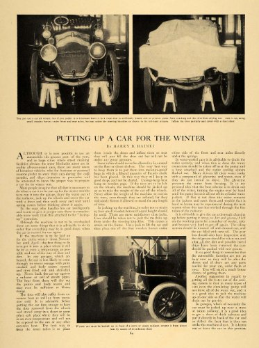 Review 1907 Article Winterizing Antique
