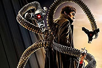 amazon dr octopus lunetteコート4つtentaclesロボットspider man映画