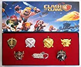 Clash of Clans 7 pcs Badge finest collection set series New in box
