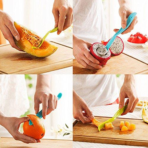 Lemon Squeezer Lime Manual Juicer with Multifunctional Orange Peeler by Fonitial (Image #7)'