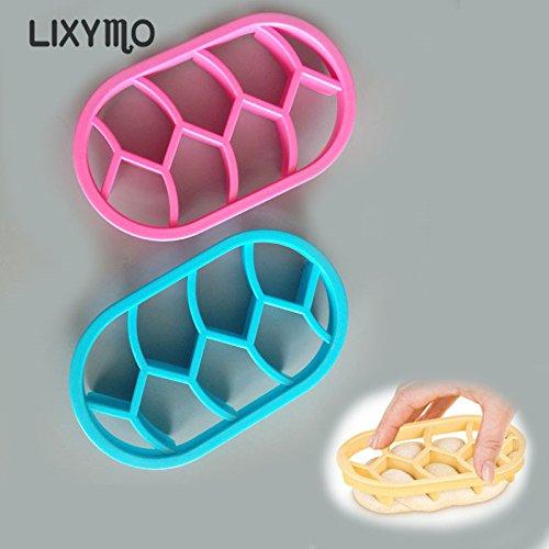 LIXYMO - Moldes de pan con forma de abanico para repostería ...