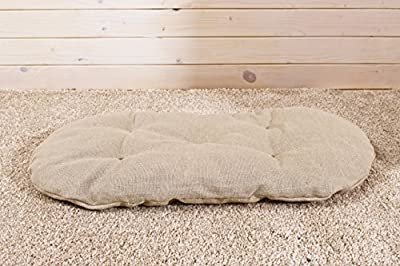 "Wool-Filled Topponcino and Slip-Off Cover / 37 x 67 cm (15"" x 30"") / Oeko-Tex Certified Wool and Fabrics / Non-Toxic Nursery Bedding"