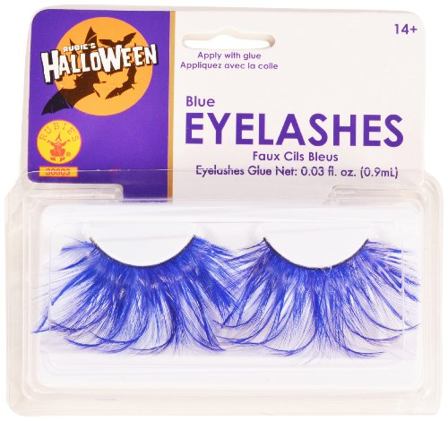 [Rubies Blue Eyelashes and Adhesive] (Mermaid Fairy Costumes)