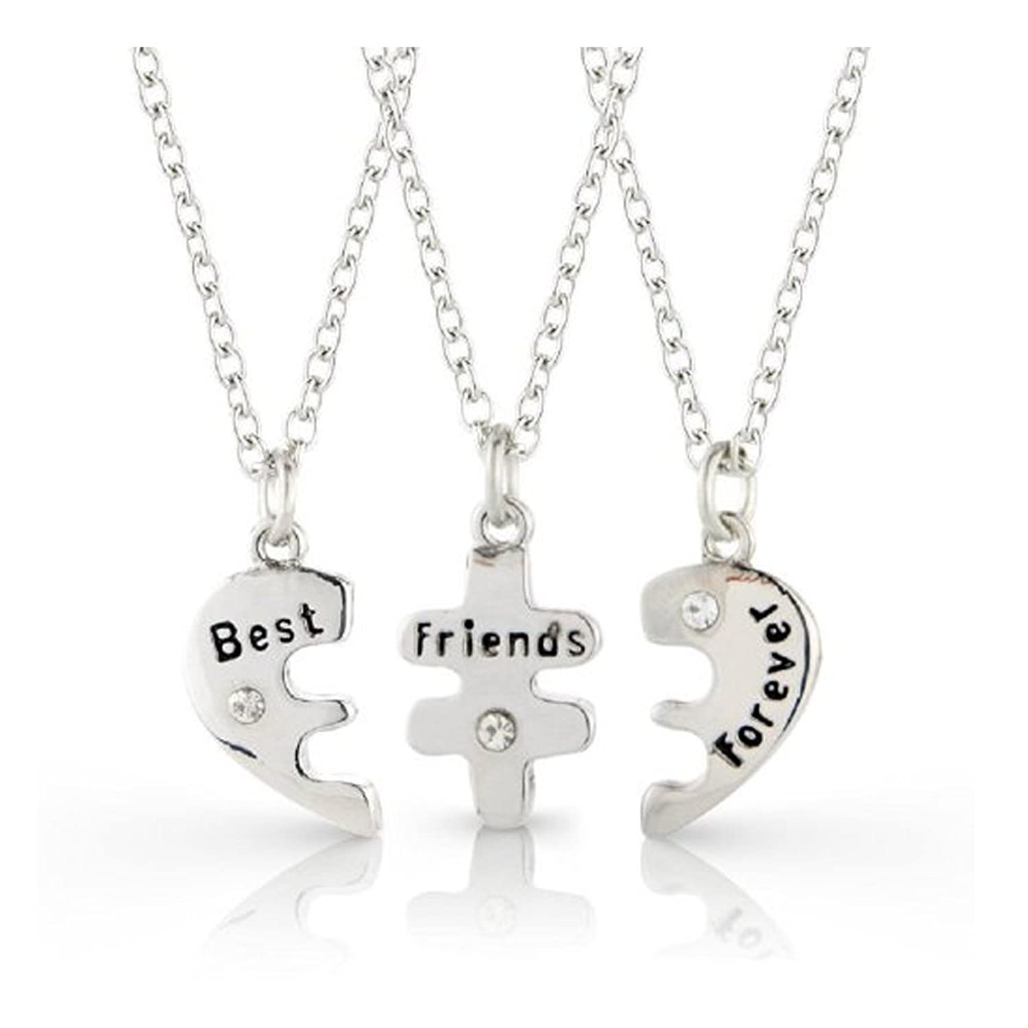 necklaces club lockets set friend breakfast product best nerdtastic bff jewelry place