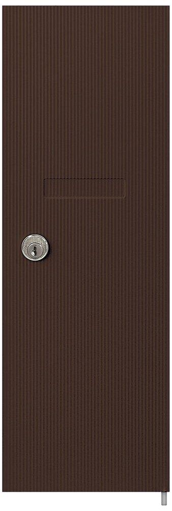 Salsbury Industries 3551BRZ Replacement Door and Lock for Vertical Mailbox with Keys, Bronze