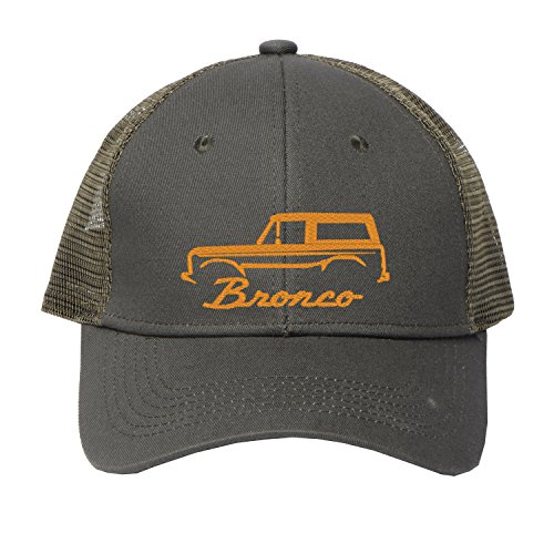 (Beach Hat Sun Visor Caps 1966-77 Ford Bronco Custom Cotton Cap)