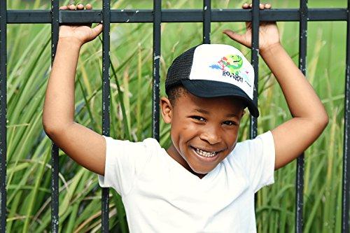 How Long to Read JP DOoDLES T-Rex Dinosaur on Kids Trucker Hat. Kids  Baseball Cap is Available in Baby 4feb3476ee6e