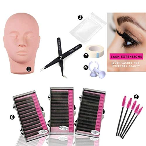 Top recommendation for lash extension supplies kit for beginners