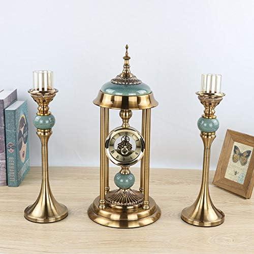 ヨーロッパの金属時計燭台金属ハードウェア装飾品クリエイティブ抽象ソフトホームモデルルーム芸術的なリビングルームの装飾 作りがいい