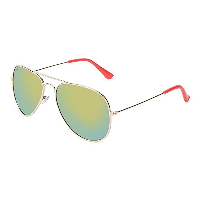 CORAL Sunglasses - VIPER - Gafas de sol con montura dorada y ...