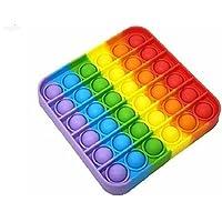 لعبة بوب ات مربعة من العاب فيدجيت والعاب الاصابع- متعددة الالوان