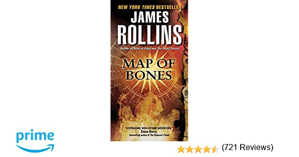 Amazoncom Map Of Bones Sigma Force James - Most recent magi map by us states