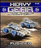 Heavy Gear Blitz: NuCoal - Fusilier Hovertank