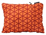 Therm-a-Rest Compressible Travel Pillow for Camping, Backpacking, Airplanes and Road Trips, Cardinal, Small - 12 x 16 Inches
