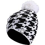 Descente Womens Faye Hat (Super White / Black)
