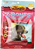 Zuke's Z-Bones Edible Grain-Free Dental Chews, Clean Berry Crisp, Regular 12-Ounce, (8 Count per pack)