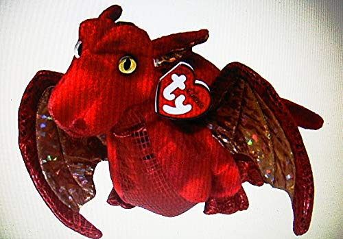 Ty Fossils The Red Dragon Classics Plush 17
