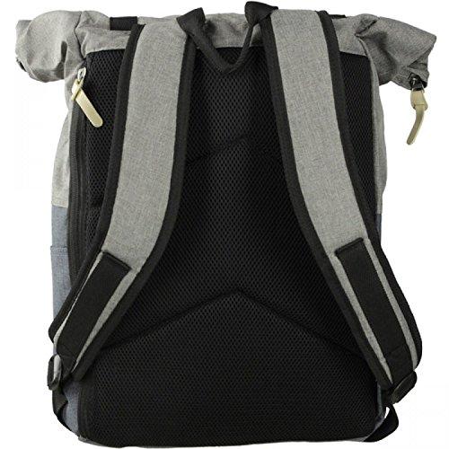 Dynamic Outwear Kurier-Rucksack Mit Laptopfach Toronto Grau ...