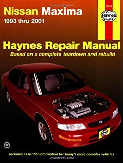chilton s nissan maxima 1993 04 repair manual chilton rh amazon com 2000 Nissan Maxima Fuse Diagram 2000 Nissan Maxima GLE