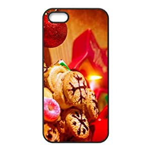 The Beautiful Christmas Night Hight Quality Plastic Case for Iphone 5s