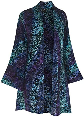 3X PLUS SIZE Kimono | Handmade Kimono Style | Women Tunic Cardigan Jacket, Custom Order for Full Figures