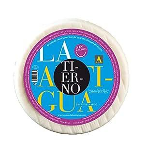 QUESERIA LA ANTIGUA DE FUENTESAUCO - Queso tierno de leche de oveja SIN LACTOSA (3.3Kg Aprox.)