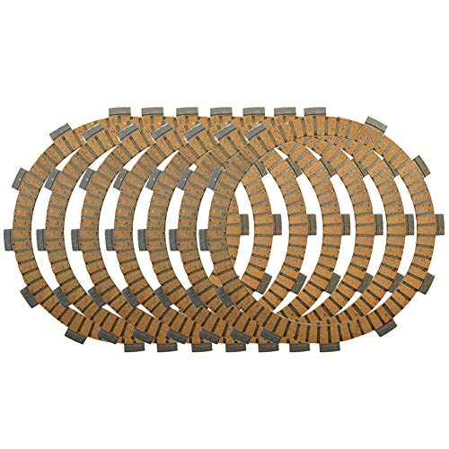 Road Passion Clutch Friction Plates 7 pcs for Kawasaki KL600 KLR600 1984-1986 / ZL600 Eliminator 600 1986-1987 1996-1997