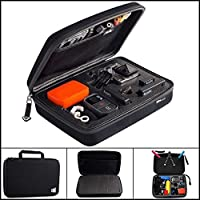 Eshion Portable Shockproof Large Size Travel Storage Protective Carry Case Bag for Gopro HD Hero 3 2 1 3+ Camera Accessories