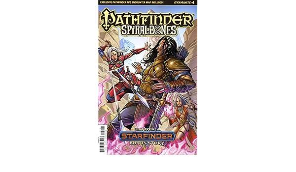 Amazon.com: Pathfinder: Spiral of Bones #4A VF/NM ; Dynamite ...