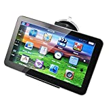 Car GPS Navigation System,Premium 7 Inch TFT LCD Touch Screen 8GB Car GPS Nav with Adapter Game_Map of Australia