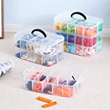 Sooyee 3-Layer Things & Crafts Storage Box with