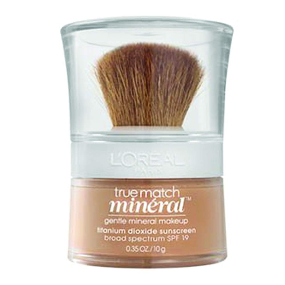 L'Oreal Paris True Match Mineral Loose Powder Foundation, Natural Beige, 0.35oz