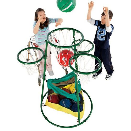 FLAGHOUSE Adjustable Multi-Ring Basketball Stand by FLAGHOUSE