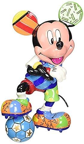 Enesco Disney by Britto Mickey Soccer Figurine, 6.125
